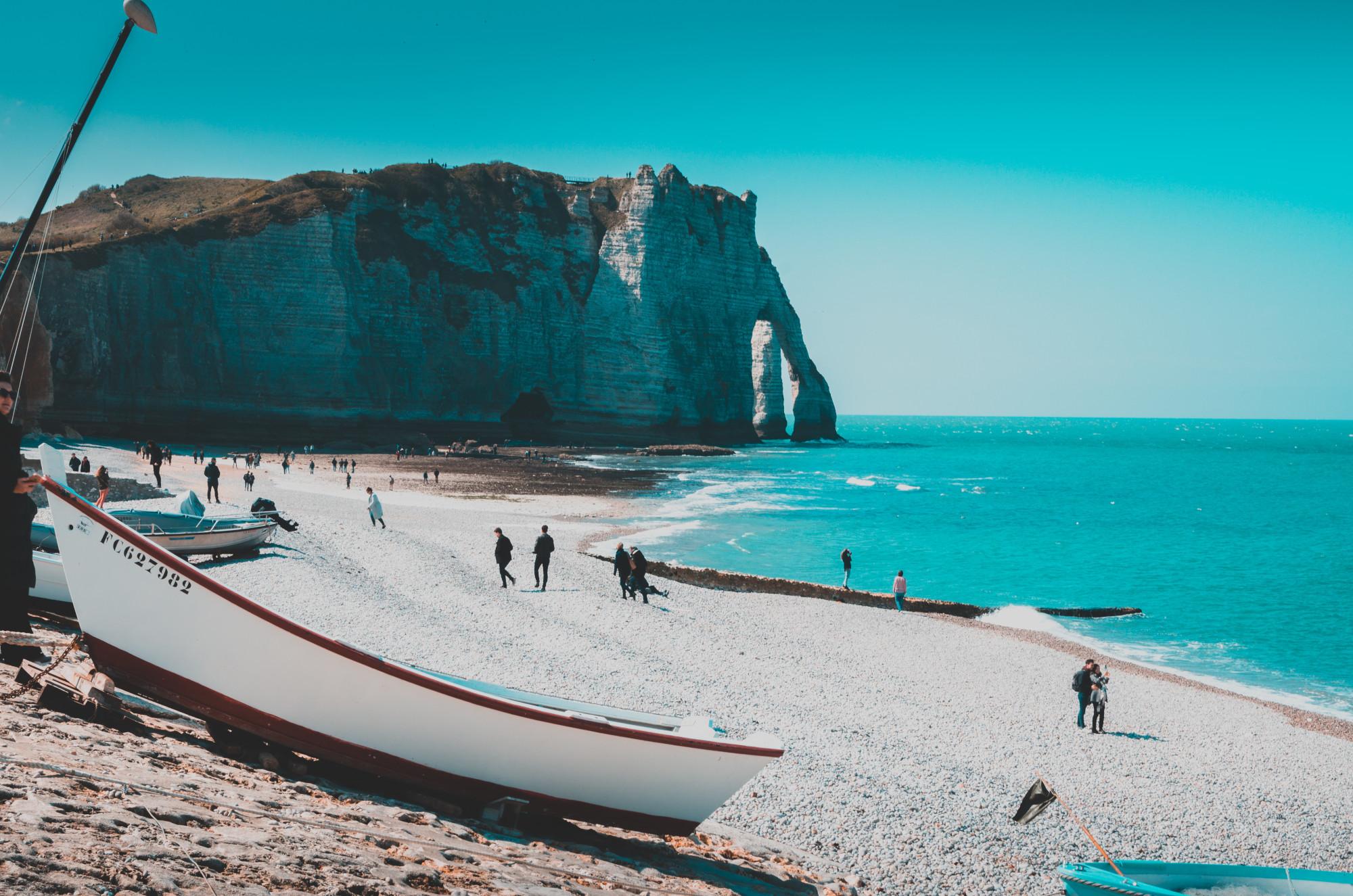 Meer und Küste in Frankreich